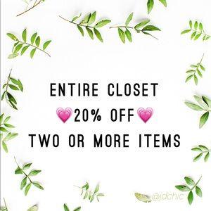 20% off bundles!